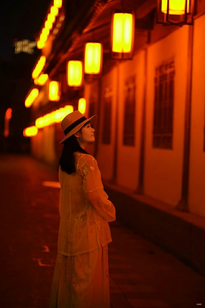 夜游香积寺