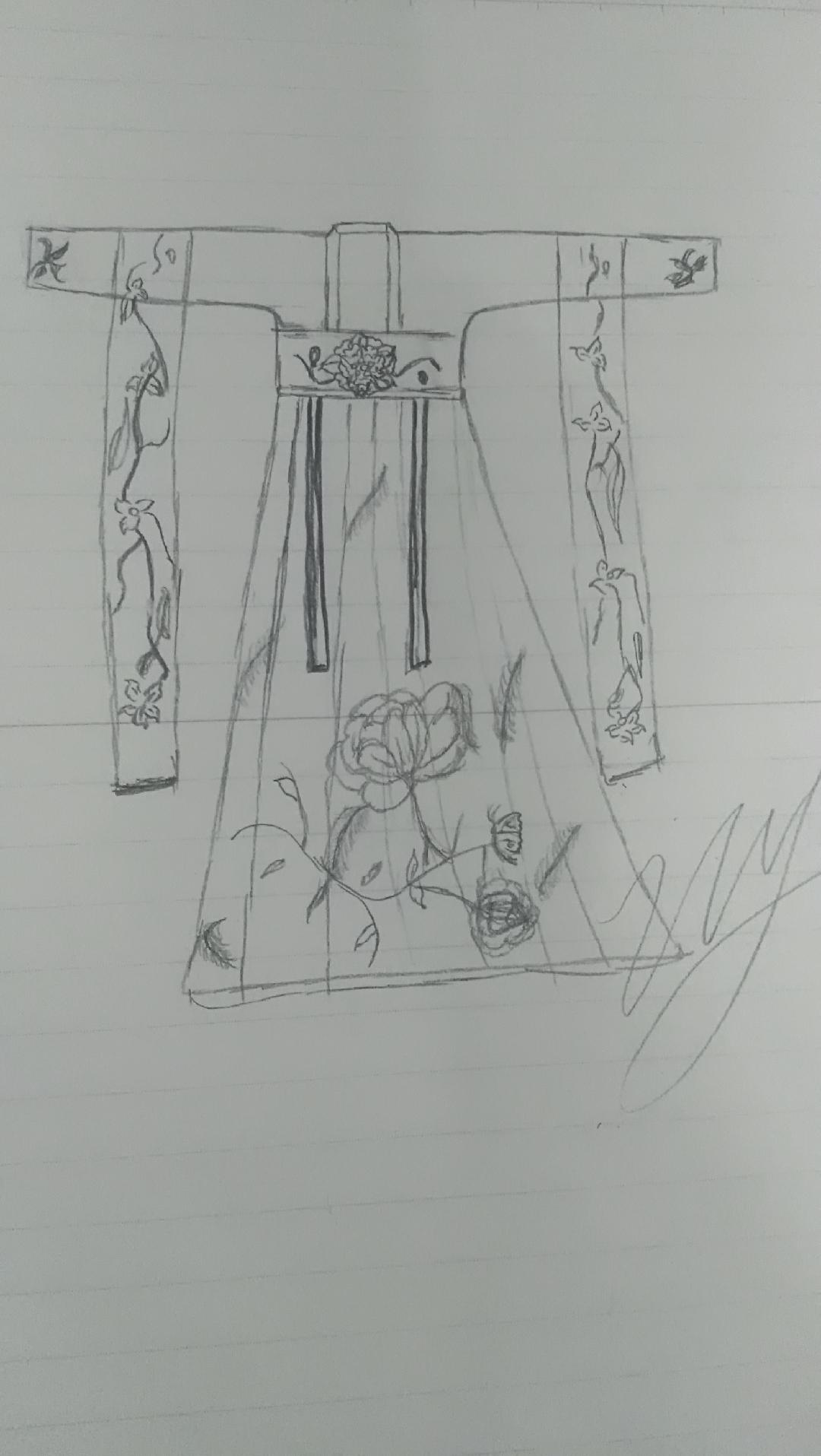 素描菠萝片步骤图片