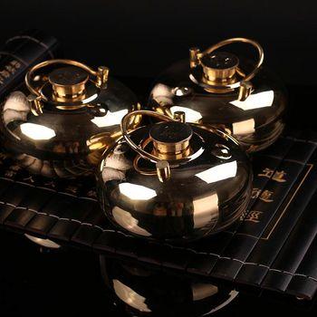 纯铜加厚烫婆子汤捂子热水袋暖手壶注水暖水袋【送自制樱花汤包】