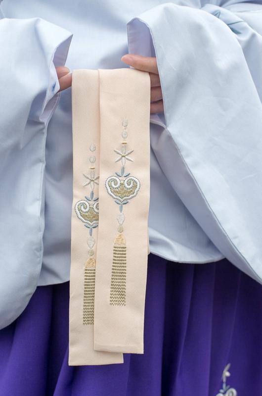 汉服刺绣女明琵琶袖袄裙豆蔻年华少女系列 长乐