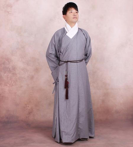 青袂坊汉服男装【道袍】清波引