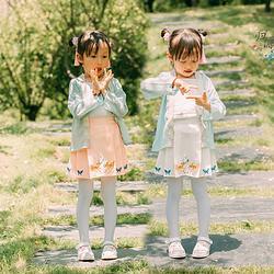 【归源】小鹿短褶 小女孩仿马面  儿童女宝宝日常汉元素短裙 尾款