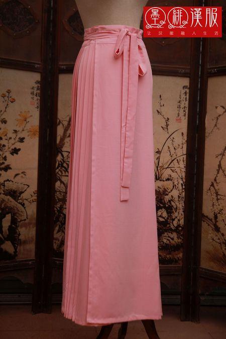 【墨绯汉服定制】马面裙衬裙 多色可选 马面裙褶裙图片