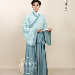 【清风】汉服交领襦裙广袖其姝汉风原创君子风系列