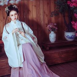 黎落阁 疏影传统汉服女装明制立领长袄大袖民族服饰日常款秋冬装