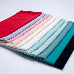 汉尚华莲传统汉服女装齐胸对襟襦裙纯色披帛飘逸多色可选