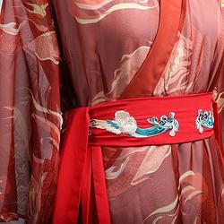 彧卿轻奢原创设计  2019蓬莱系列新品刺绣腰带