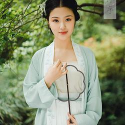 【现货】【松隐】倾杯序原创刺绣褙子齐腰套  汉服日常  女春夏装