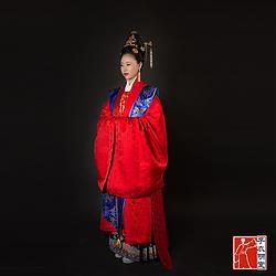 【子衣明堂】传统明制汉服大袖衫霞帔婚礼礼服
