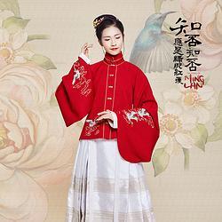 汉尚华莲x知否概念款仙媛汉服女装明制立领上袄琵琶袖日常冬两色