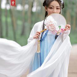 【屿鹿】云锦堂原创汉服女齐胸对襟襦裙加大袖全款预售