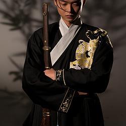 玉芝瑛——虬龙吟枝  曳撒  明制汉服  传统汉服