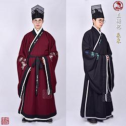 【洞庭漢風漢服】直裾袍-【辰采】