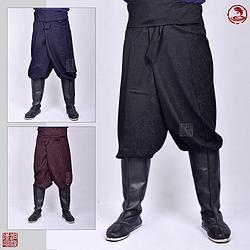 【洞庭漢風漢服】類迷彩紋傳統袴