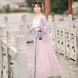 【流烟昔泠-朝颜 】春夏传统原创汉服女对襟齐腰襦裙刺绣花