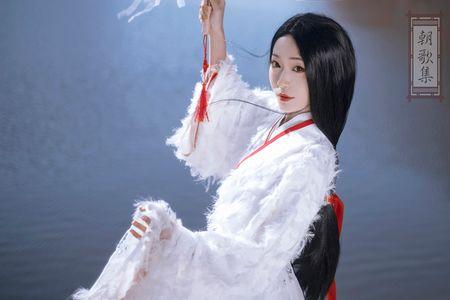 朝歌集原创 白鹤少年 男女同款 汉元素 cp装 晋襦 国风原创