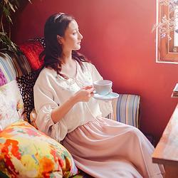 云鬓◆蘸客 花朝记旗下原创绣花中国风时装品牌 宽松春民族风女装
